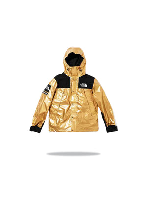Supreme x The North Face Metallic Mountain Jacket - Gold