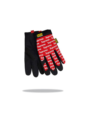 Supreme x Mechanix Glove Red