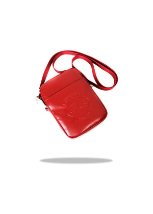 Supreme x Lacoste Shoulder Bag - Red