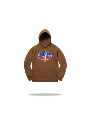 Supreme Hysteric Glamour Hoodie - Brown