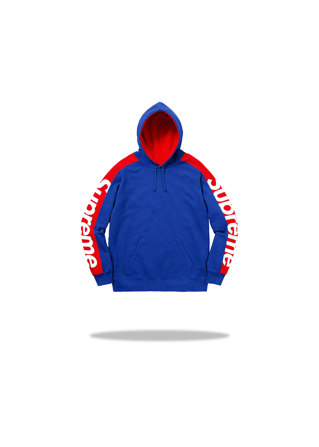 Supreme Sideline Hooded Sweatshirt Royal