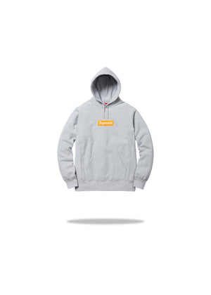 Supreme Box Logo Grey Orange