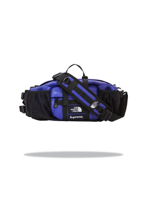 Supreme x TNF Waist Bag Leather Purple