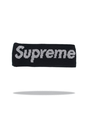 Supreme Headband Black FW17