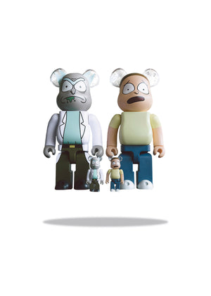 Bearbrick 400% Rick & Morty BAIT Exclusive