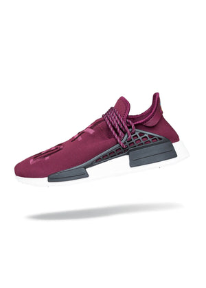 Adidas NMD R1 Pharrell HU Friends and Family Burgundy