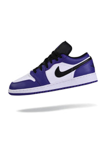 Jordan 1 Low Court Purple White