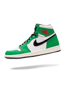 Jordan 1 Retro High Lucky Green (W)