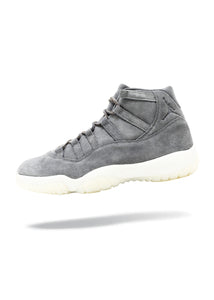 Jordan 11 Retro Pinnacle Grey Suede