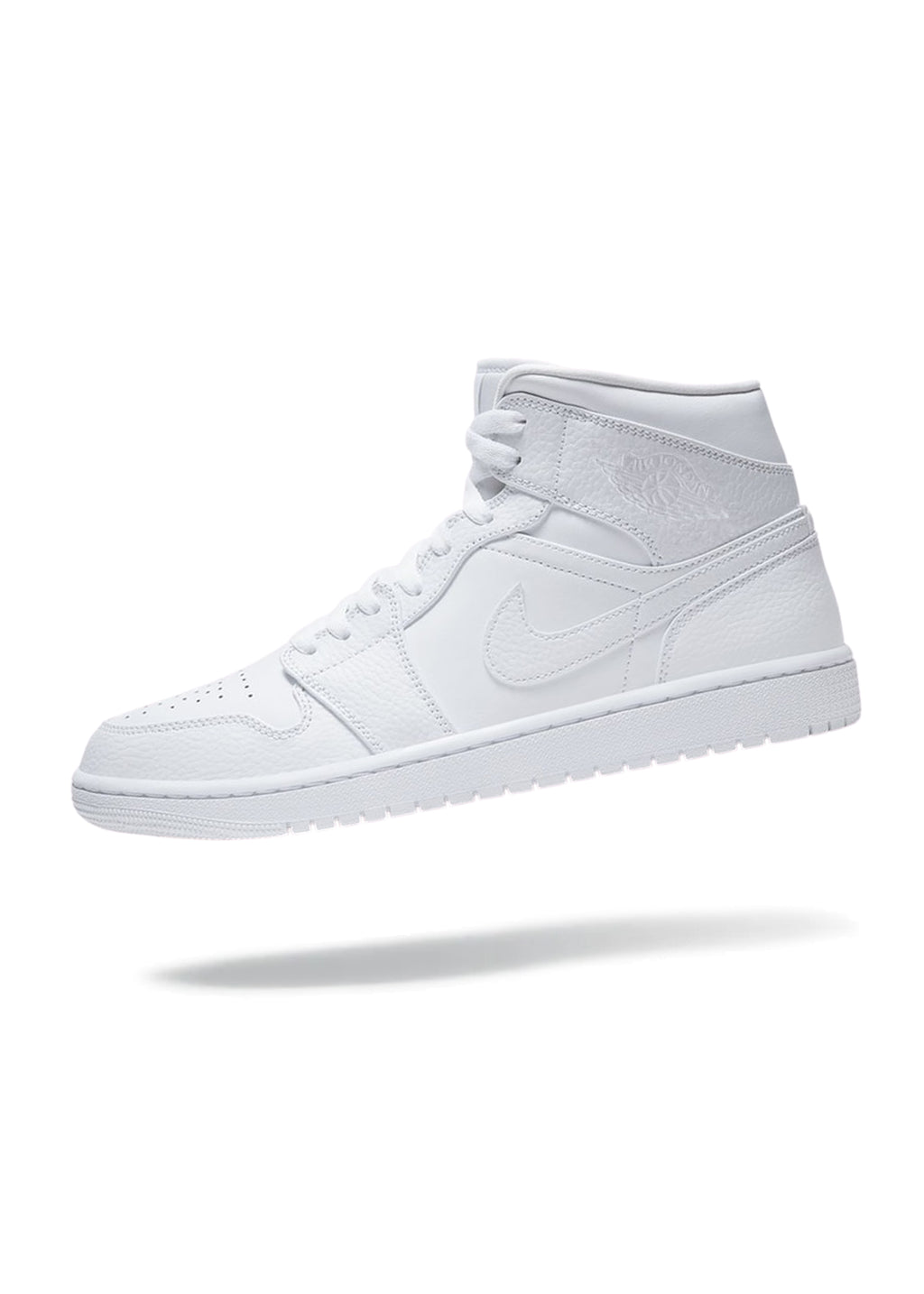 Jordan 1 Mid Triple White 2.0 (2020)