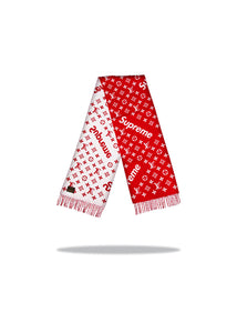 Louis Vuitton x Supreme Scarf - Red