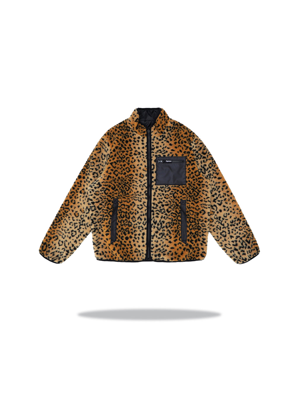 Supreme Reversible Leopard Fleece