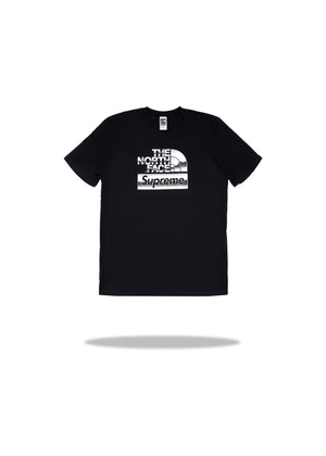 Supreme The North Face Metallic Logo T-Shirt Black