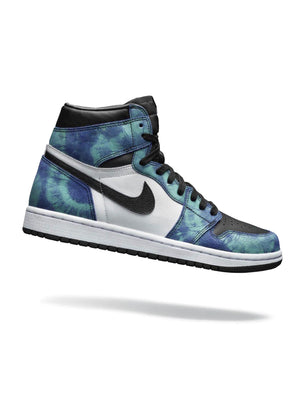 Jordan 1 high Tie dye women