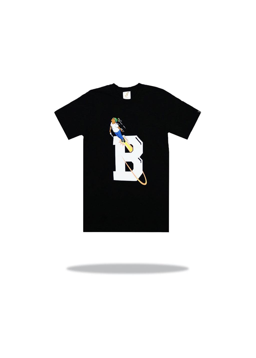 Billionaire Boys Club x Hebru Blast Off SS Tee Black