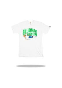 Billionaire Boys Club x Hebru Fly Boy SS Tee White