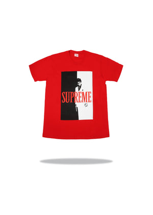 Scarface Split Tee Red