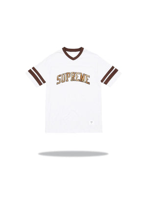 Supreme Glitter Arch Football Brown 2017