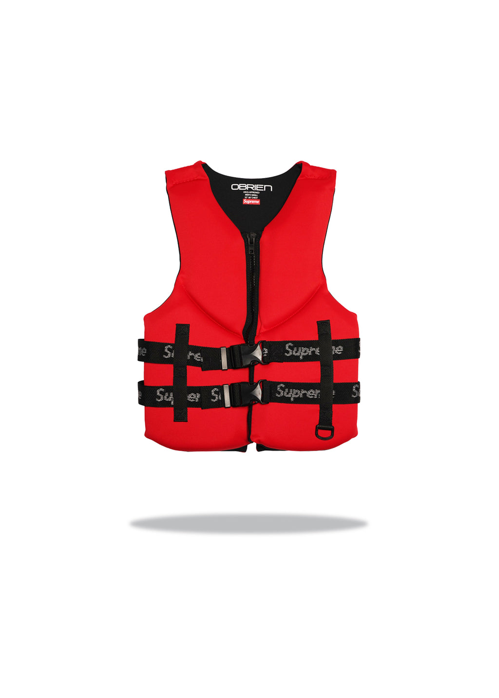 Supreme O'Brien Life Vest Red