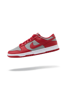 Nike Dunk Low Retro Medium Grey Varsity Red UNLV (2021)