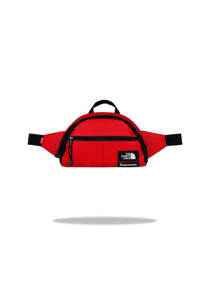 Supreme The North Face Leather - Lumbar Pack Red