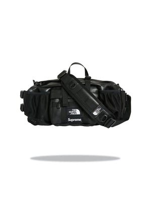 Supreme The North Face Leather - Lumbar Pack BLACK