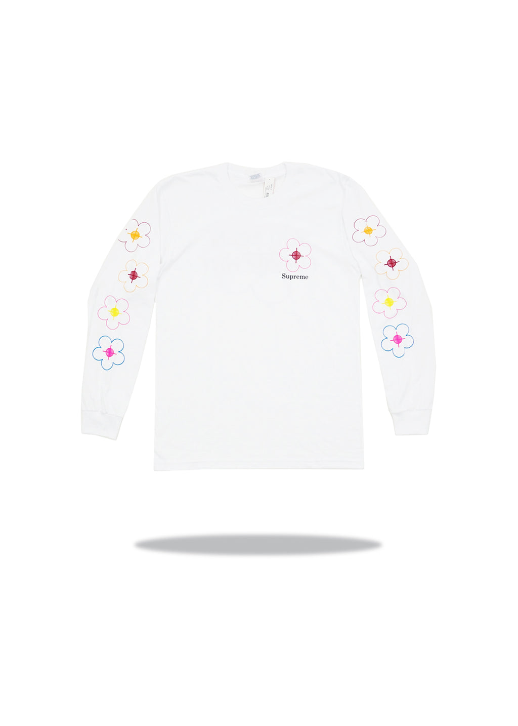Supreme Been Hit Long Sleeve White