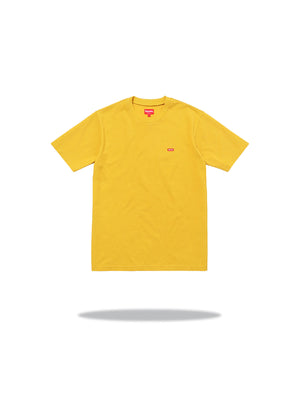 Supreme Small Box Tee Dark Yellow