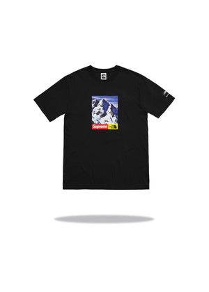 Supreme x The North Face Mountain Tee Black