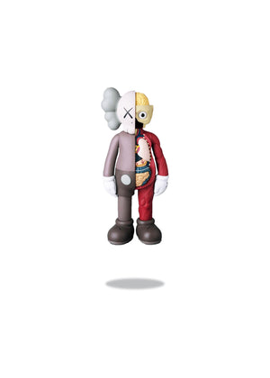 Kaws Companion Flayed Open Edition Vinyl Figure Brown