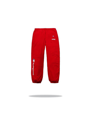 Supreme x Champions Track Pants Red