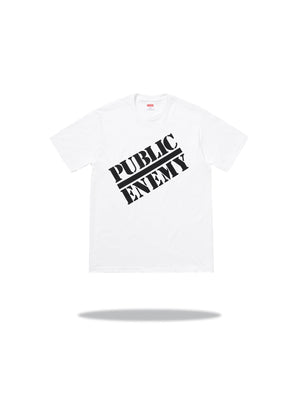Supreme x Undercover Public Enemy Tee White
