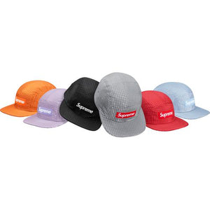 Supreme Metallic Check Camp Cap
