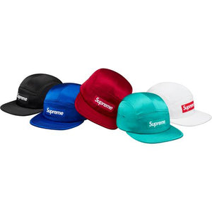 Supreme Satin Camp Cap