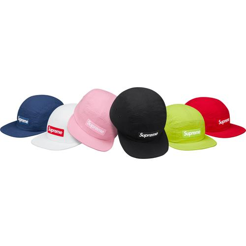 Supreme Tonal Seersucker Camp Cap