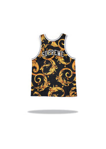 Supreme Nike Basketball Jersey Black