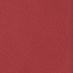 Red leather swatch