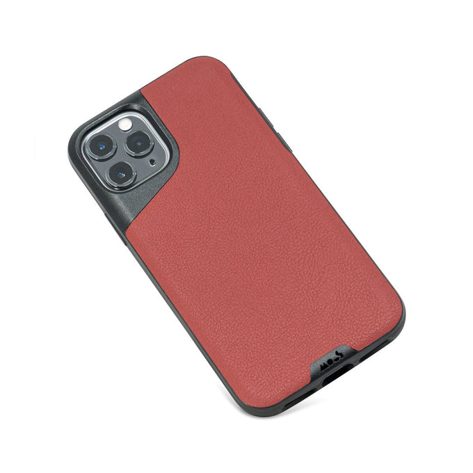 Red Leather Slim iPhone 11 Pro Case