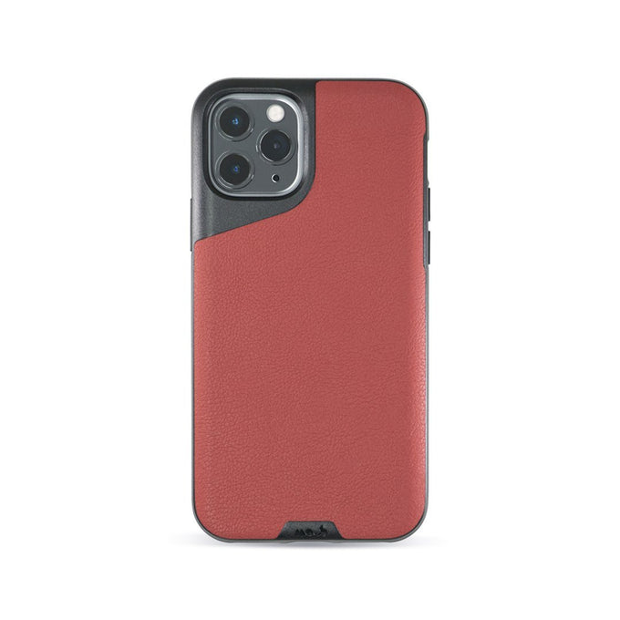 Red Leather Protective iPhone 11 Pro Case