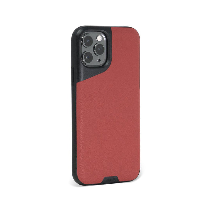 Red Leather Tough iPhone 11 Pro Case