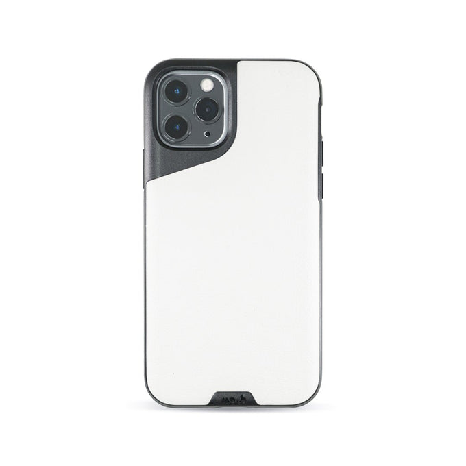 White Leather Protective iPhone 11 Pro Max Case