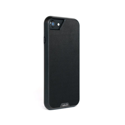 Black Leather Protective iPhone 8 Case