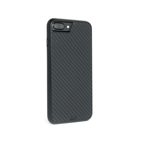 Funda protectora de fibra de carbono para iPhone 8 Plus