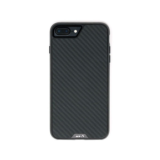 Fibre de carbone incassable pour iPhone 8 Plus Coque
