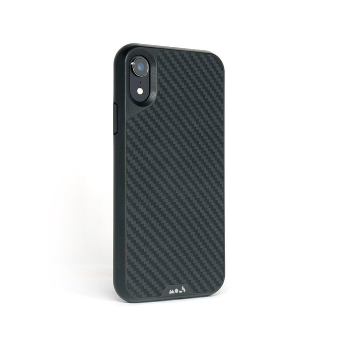 Protection en fibre de carbone pour l'iPhone XR Coque