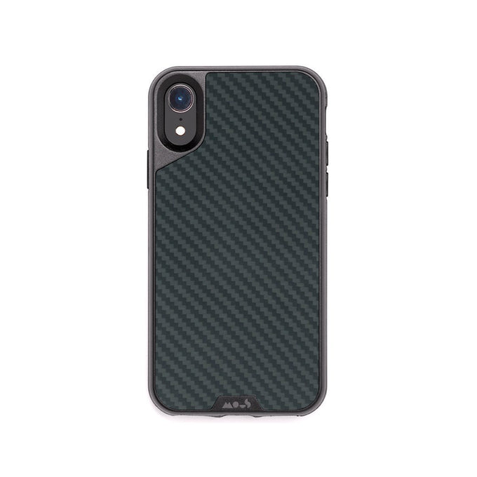 Fibre de carbone incassable pour iPhone XR Coque
