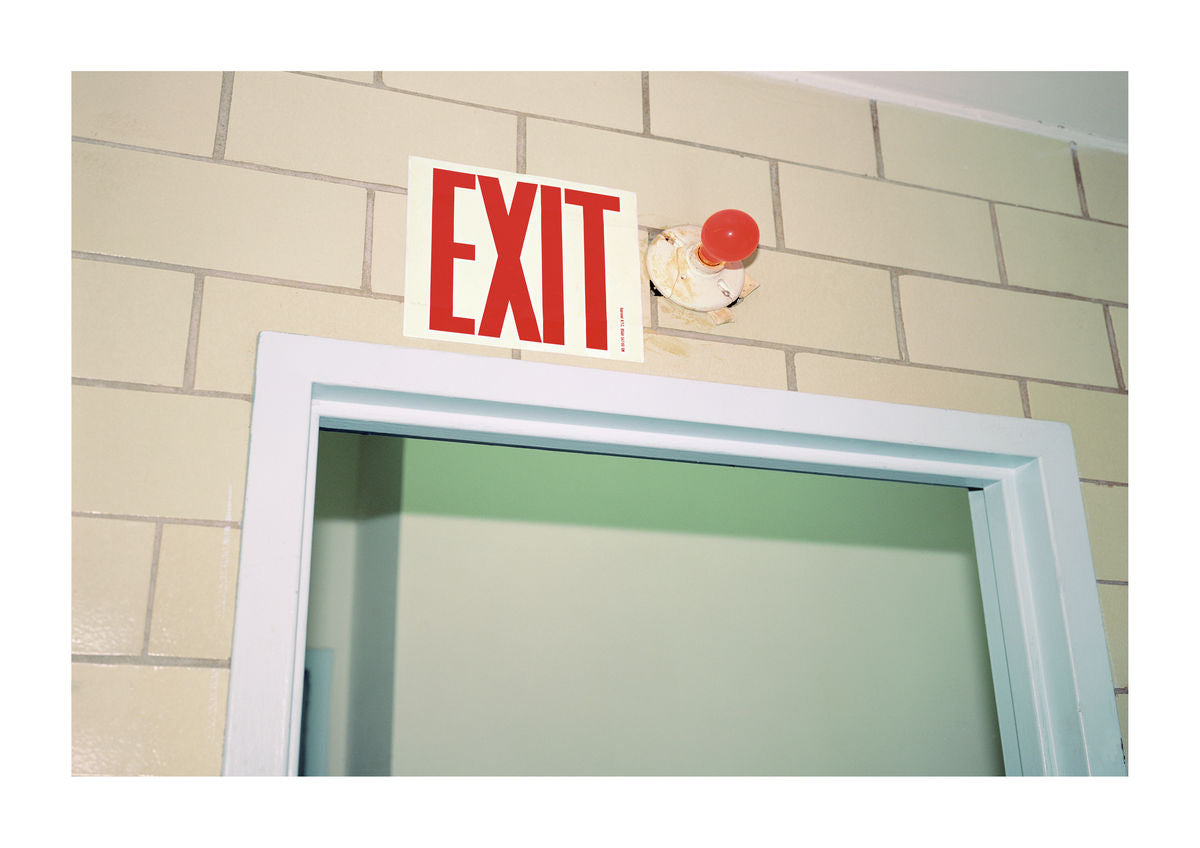 EXIT SIGN - BROOKLYN