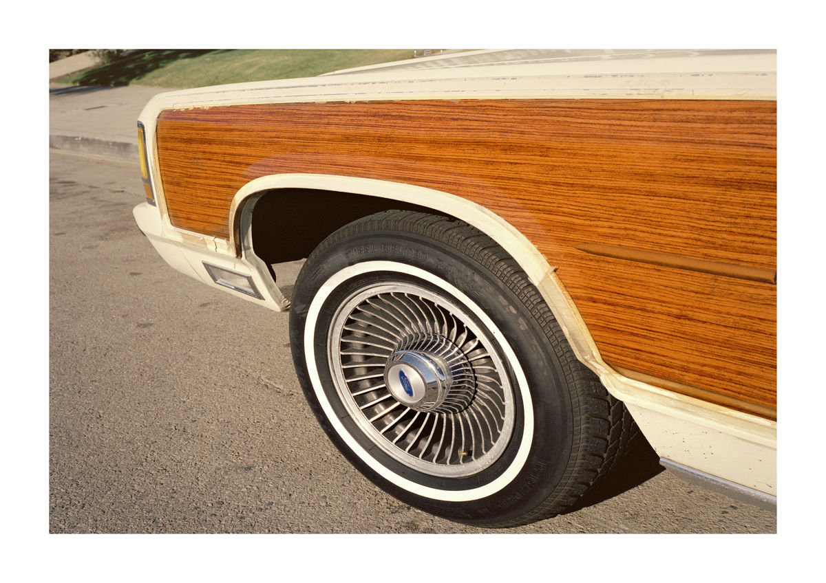 WOOD CAR - LOS ANGELES