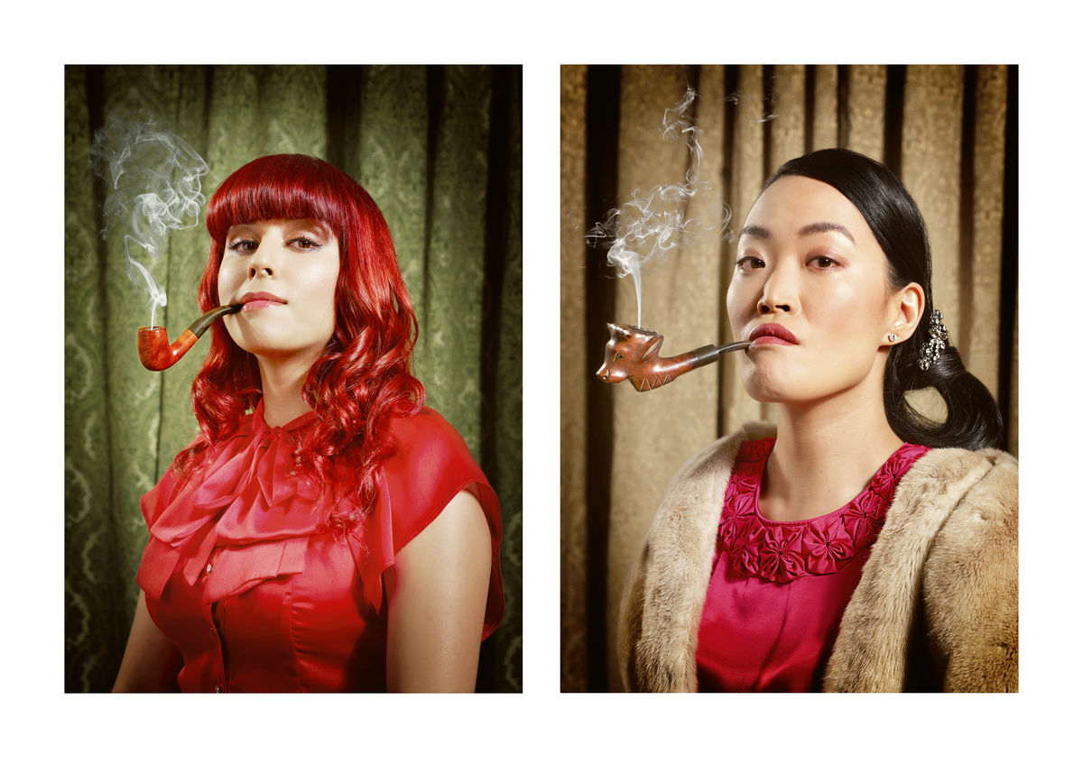PIPE SMOKERS - AMY & GLO - LONDON