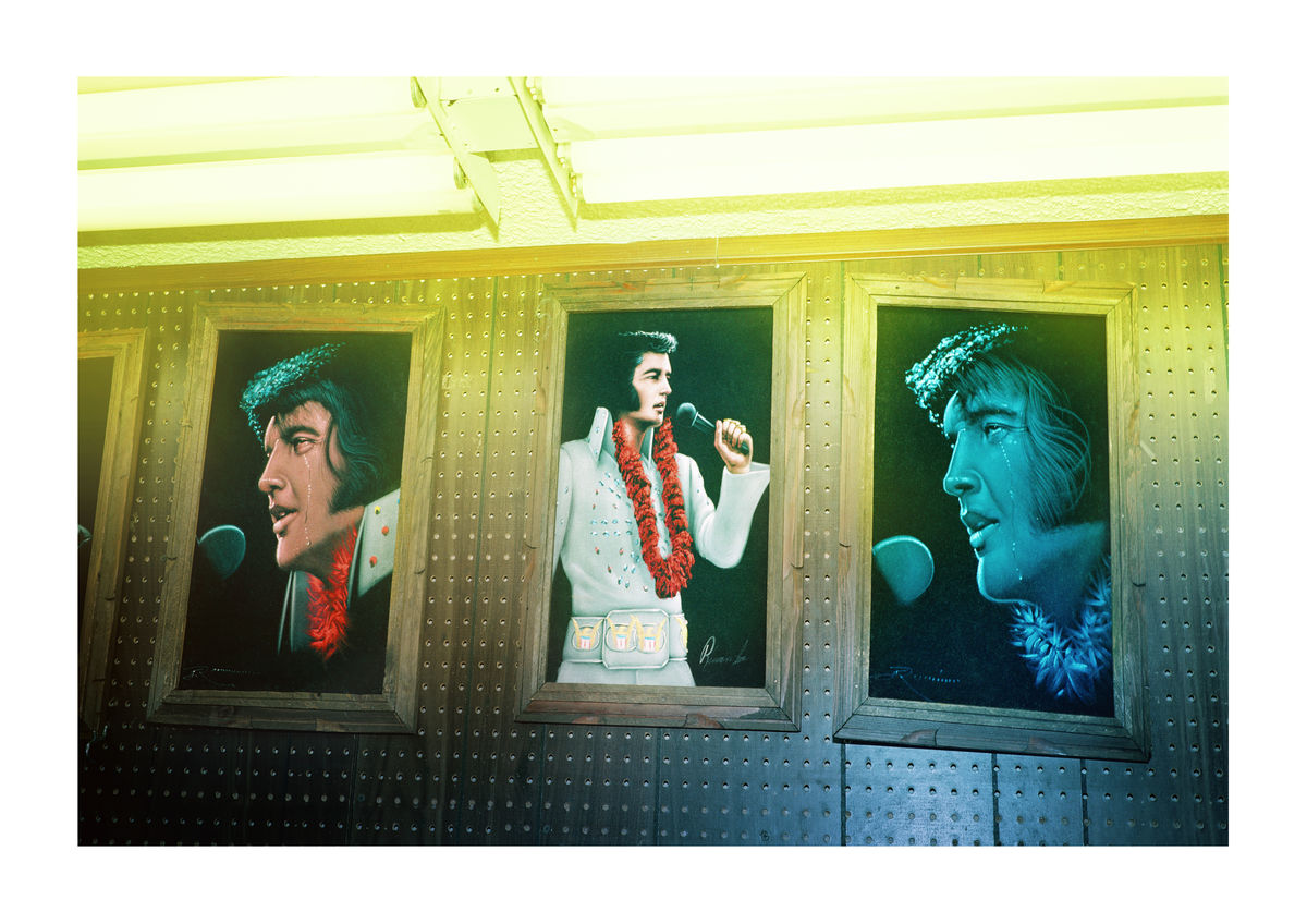 ELVIS ART - LAS VEGAS